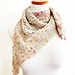Briar rose kerchief pattern