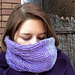Perambulating Cowl pattern