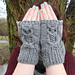 Owl Mitts pattern