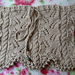 Cable and Fern Cowl pattern