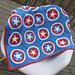 Captain America Blanket pattern