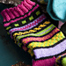 #15 Bold Colorwork Socks pattern