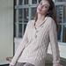 #19 Shawl Collar Pullover pattern