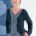 #29 Cable Front Pullover pattern