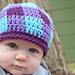 Gingham Beanie - Kids & Babies Plaid Hat pattern