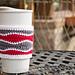 Brain Waves Coffee Cozy pattern