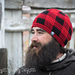 Gingham Beanie - Adults Plaid Hat pattern