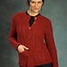 2386 Women's Cabled Cardigan pattern