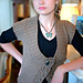 2755 Bobble Panel Vest pattern