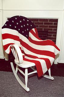 Phenomenal P267 American Flag Afghan Pattern By Plymouth Yarn Design Studio Short Links Chair Design For Home Short Linksinfo