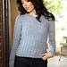 3210 Women's Pullover pattern