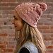 F906 Cable and Seed Stitch Hat pattern