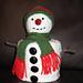 Snowman Toilet Roll Cosy pattern