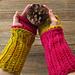 Version 2.0 Mrs. Fitz-Inspired Crocheted Mini Mitts - Outlander  pattern