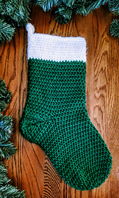 A Traditional Christmas Stocking