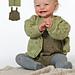 92116 Babyset: kofta, byxa & filt pattern