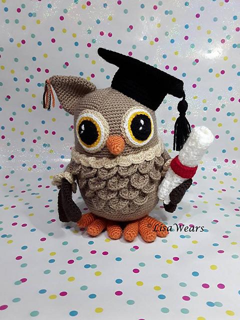 Freebie Friday: Owl Crochet Pattern • One's Creative Mind | 640x480