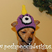 One Eyed Monster Hat for Dogs pattern