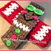 Gingerbread V Stitch Headband pattern