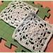 August Peridot Granny Square pattern