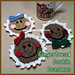 Christmas Gingerbread Coasters pattern