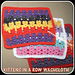 Kittens In A Row Washcloth pattern
