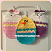 Easter Egg Hot Pads pattern