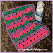 Larksfoot Dish Cloth pattern