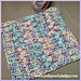 Tipsy Clusters Washcloth pattern