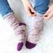 Wych Elm Socks pattern