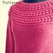 Laurel wreath pullover pattern