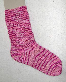 Tidal Wave Socks - finished