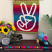 Peaceful Hands Wall Hanging pattern