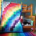 Rainbow Joy Blanket pattern
