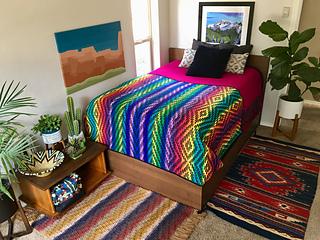 Ravelry Cactus Garden Blanket Pattern By Susan E Kennedy