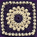 Antique Pearls Square pattern