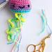 Happy Jellyfish Keyring pattern