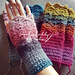 Fantail Stitch Fingerless Gloves pattern