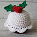 Christmas Pudding Chocolate Orange Cover pattern