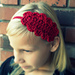 Crochet Steampunk Lace Headband pattern