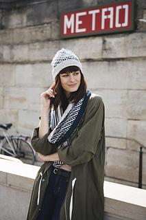 Escalier Hat & Cowl
