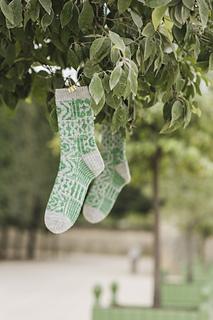 Jardin à la Française Socks