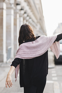 Running Up That Hill Shawl