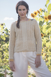 Sheepscot Pullover by Kathleen Dames