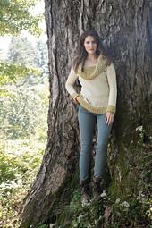 Buttonbush Pullover by Heather Zoppetti