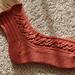 Zen Waves socks pattern