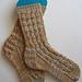 California Dreamin' Clog Socks pattern