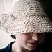 1950s wide brimmed hat  pattern