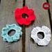 Flowerette Scrunchies pattern