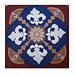 Fleur De Lis Crocheted Doily pattern